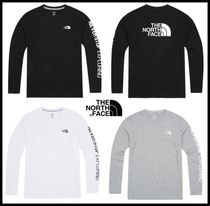 THE NORTH FACE Street Style Long Sleeves T-Shirts