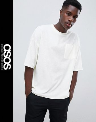 e7a39a2c4f63 ... ASOS More T-Shirts Street Style Short Sleeves Oversized T-Shirts ...