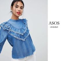 ASOS Casual Style Denim Street Style Long Sleeves