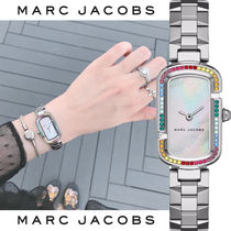MARC JACOBS Street Style Square Quartz Watches Stainless Office Style