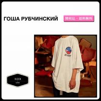 Gosha Rubchinskiy Street Style Cotton Short Sleeves T-Shirts