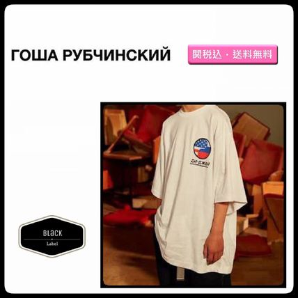 Gosha Rubchinskiy More T-Shirts Street Style Cotton Short Sleeves T-Shirts