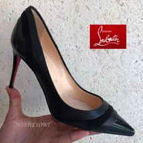 Christian Louboutin Leather Pin Heels Pointed Toe Pumps & Mules