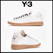 Y-3 Mountain Boots Unisex Street Style Plain Sneakers