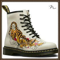 Dr Martens Unisex Street Style Collaboration Other Animal Patterns