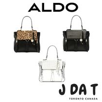 ALDO Leopard Patterns Casual Style Faux Fur Blended Fabrics