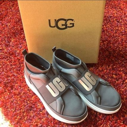 UGG Australia Slip-On Platform Plain Toe Casual Style Plain Slip-On Shoes 2