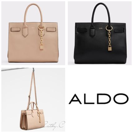 947c41a68e7 Aldo 2018 19aw Faux Fur 2way Chain Plain Elegant Style Handbags By