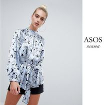 ASOS Star Casual Style Street Style Long Sleeves Shirts & Blouses