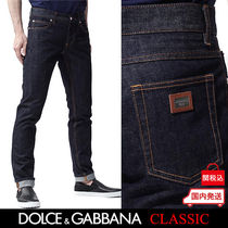 Dolce & Gabbana Plain Cotton Jeans & Denim