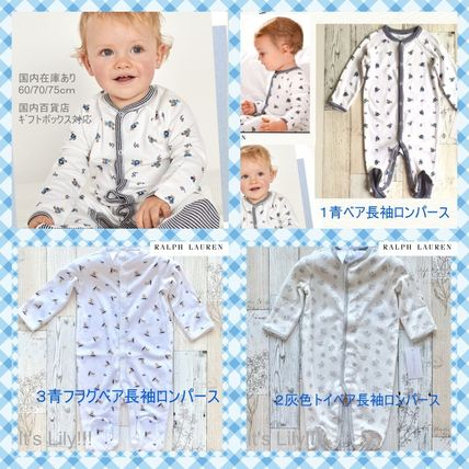 Ralph Lauren Baby Boy Bodysuits & Rompers Baby Boy Bodysuits & Rompers 5