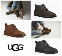 UGG Australia NEUMEL Plain Leather Chukkas Boots