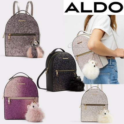 Casual Style Street Style 2WAY Plain Backpacks