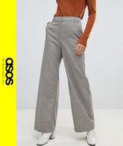ASOS Other Check Patterns Casual Style Pants
