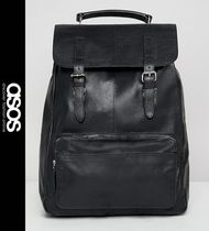 ASOS Leather Backpacks