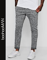 boohoo Other Check Patterns Street Style Joggers & Sweatpants