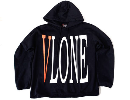 VLONE Hoodies Pullovers Unisex Street Style Long Sleeves Hoodies 4