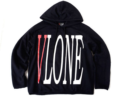 VLONE Hoodies Pullovers Unisex Street Style Long Sleeves Hoodies 6