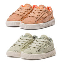 PUMA SUEDE Unisex Collaboration Kids Girl Sneakers