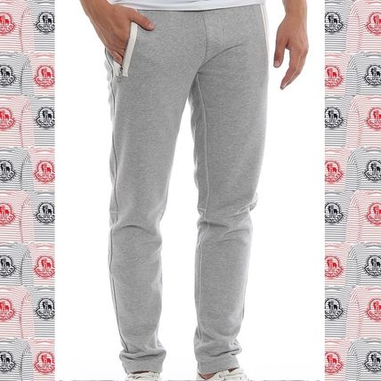 72caf38c9851 MONCLER 2018-19AW Stripes Street Style Plain Cotton Joggers ...