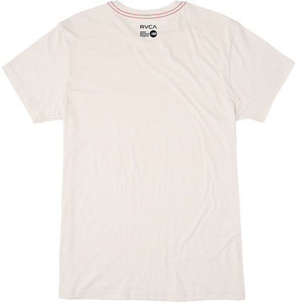 RVCA Crew Neck Crew Neck Street Style Cotton Short Sleeves 3