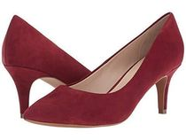 Cole Haan Suede Plain Elegant Style Pointed Toe Pumps & Mules
