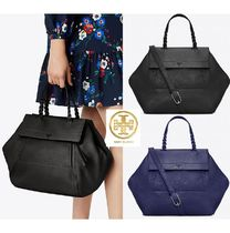 Tory Burch 2WAY Plain Leather Totes
