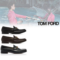 TOM FORD Loafers Plain Leather Loafers & Slip-ons