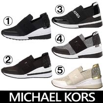 Michael Kors Casual Style Plain Low-Top Sneakers
