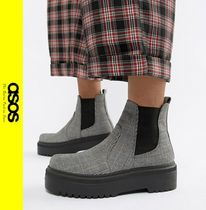 ASOS Other Check Patterns Ankle & Booties Boots