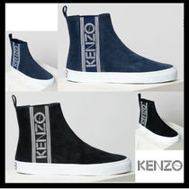 KENZO Street Style Plain Leather Loafers & Slip-ons
