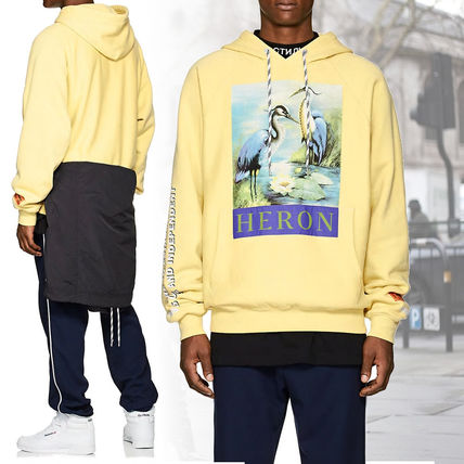 Heron Preston Hoodies Sweat Street Style Long Sleeves Hoodies