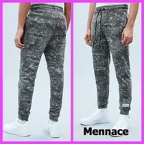 MENNACE Tapered Pants Camouflage Street Style Cotton Tapered Pants