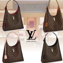 Louis Vuitton MONOGRAM Monogram 2WAY Leather Elegant Style Totes