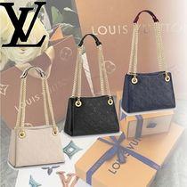 Louis Vuitton MONOGRAM EMPREINTE Monogram 2WAY Leather Shoulder Bags