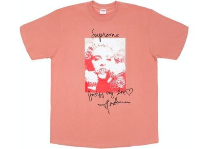 Supreme More T-Shirts Unisex Street Style Short Sleeves T-Shirts 10