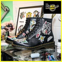 Dr Martens Mountain Boots Collaboration Leather Shoes