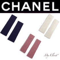 CHANEL Other Check Patterns Cashmere Street Style Handmade