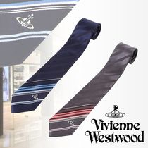 Vivienne Westwood Stripes Silk Ties