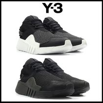 Y-3 Mountain Boots Unisex Street Style Sneakers