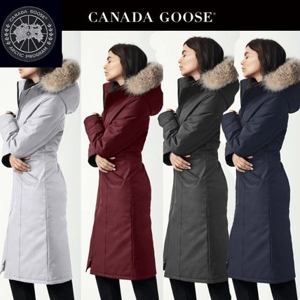 43335c5c9262 CANADA GOOSE ELROSE 2018-19AW Plain Long Down Jackets (2574L) by ...