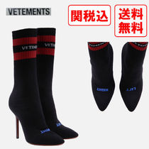 VETEMENTS Casual Style Street Style Boots Boots