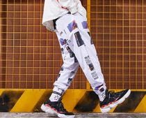 Street Style Cotton Oversized Joggers & Sweatpants