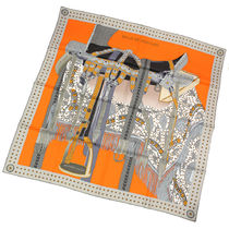 HERMES Casual Style Silk Lightweight Scarves & Shawls