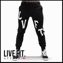 Live Fit Tapered Pants Street Style Plain Tapered Pants
