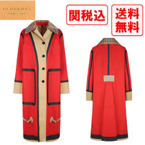 Burberry Casual Style Street Style Coats
