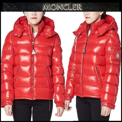 81c5173283a9 MONCLER MAYA Blended Fabrics Petit Street Style Kids Girl Outerwear ...