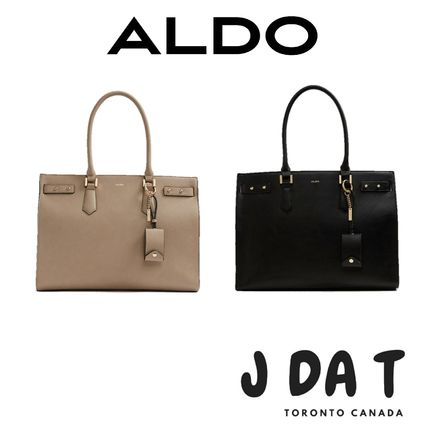 c4aae824d60 ALDO 2018-19AW Faux Fur 2WAY Plain Office Style Handbags by JDaT - BUYMA