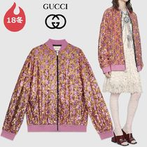 GUCCI Short Monogram Souvenir Jackets