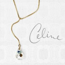 CELINE Unisex Elegant Style Necklaces & Pendants